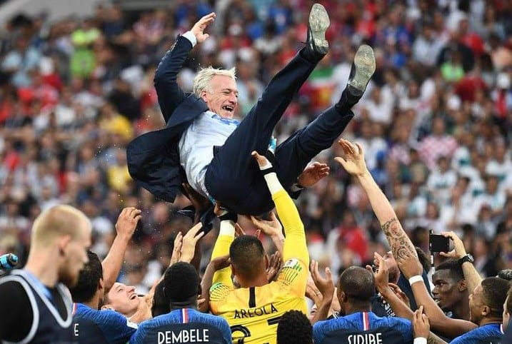 """Franța - lângă Uruguay și Argentina la titluri mondiale câștigate, Deschamps - în compania """"monștrilor"""" Zagallo și Beckenbauer"""
