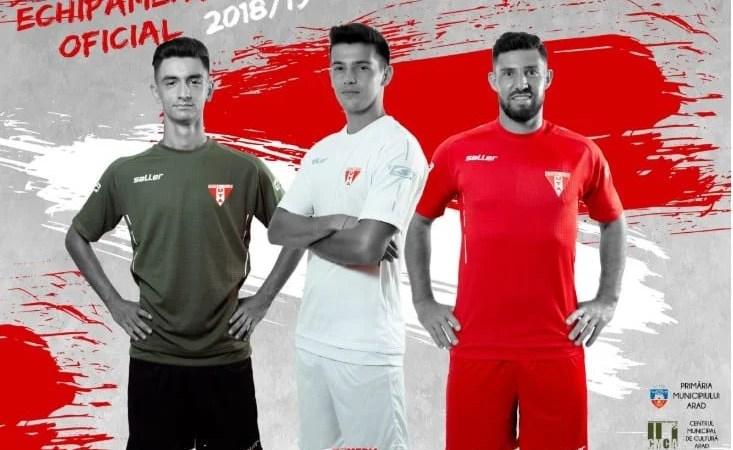 Roșu, alb și kaki cu negru, culorile UTA-ei pentru stagiunea 2018-2019