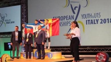 Photo of Cosmin Krupla și Dorina Tofan, triplu medaliați europeni la haltere!