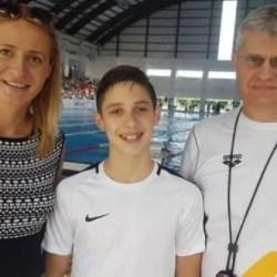 Înotătorul Lucas Rad a devenit vicecampion național de cadeți