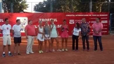 "Photo of Cristina Ene și Ioana Roșca și-au adjudecat trofeul la dublu, la Trofeul ""Ilie Năstase"""