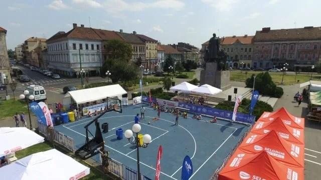Arad Streetball și-a disputat cea de-a II-a ediție sâmbătă