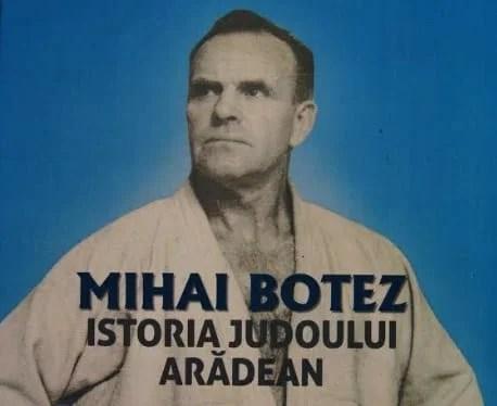 """Volumul """"Mihai Botez – Istoria judoului arădean"""" va fi lansat la Biblioteca Județeană joi seara"""
