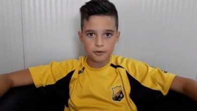 Photo of Deyan Leș, unul dintre pariurile fotbalului arădean la nici 10 ani