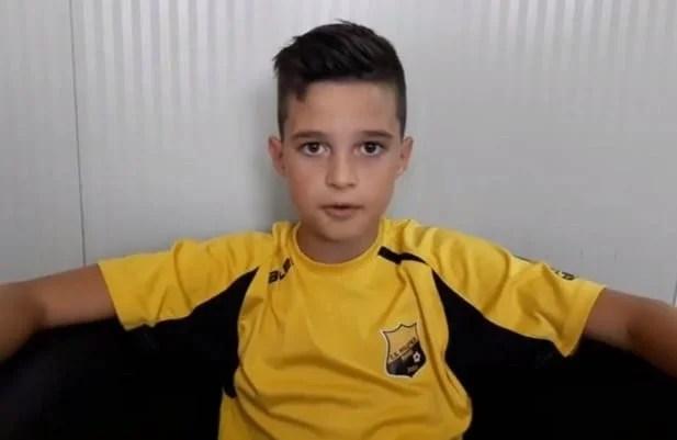 Deyan Leș, unul dintre pariurile fotbalului arădean la nici 10 ani