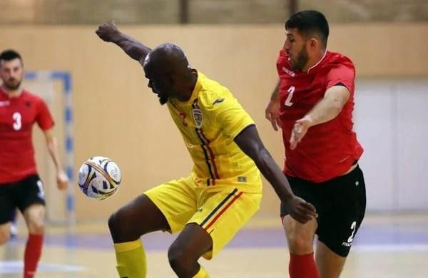 Naționala de futsal a României leagă două victorii la Arad, contra Albaniei