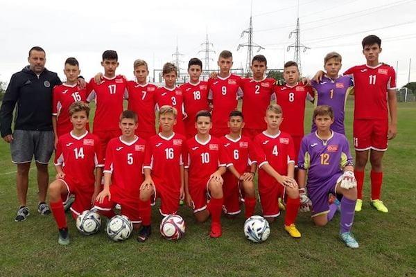Selecționata Under 14 a Aradului câștigă în ultima repriză duelul cu reprezentativa Carașului