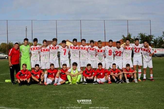 Echipele de juniori ale UTA s-au calificat în Liga Elitelor, după ce au obținut rezultatele ce le lipseau cu Hunedoara