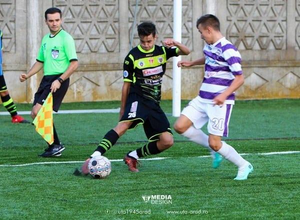 Echipele de juniori ale UTA-ei joacă acasă în primul tur al Cupei României: Derby al Vestului la Under 17!