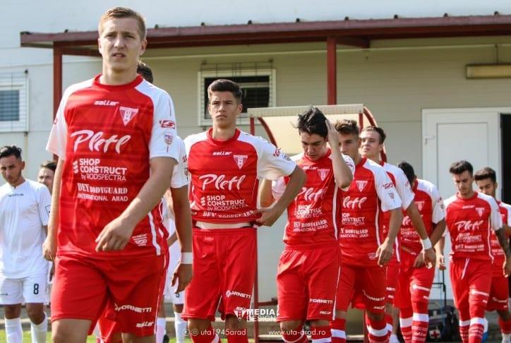 Echipele UTA-ei și-au aflat adversarele din Liga Elitelor: Under 19 se deplasează în weekend la Târgu Mureș, Under 17 are etapă liberă!