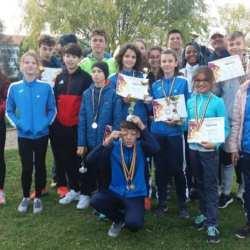 Atleții de la CSȘ Gloria s-au remarcat la tradiționalul concurs de la Carei, ultimul al anului 2018