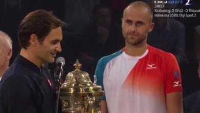 """Photo of Înfrângere onorabilă pentru Copil în finala de la Basel, cu Federer! """"Roger îţi mulţumesc foarte mult pentru ceea ce ai făcut în tenis!"""""""
