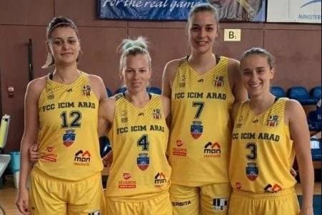 FCC ICIM Arad, argint la Cupa României de baschet 3x3