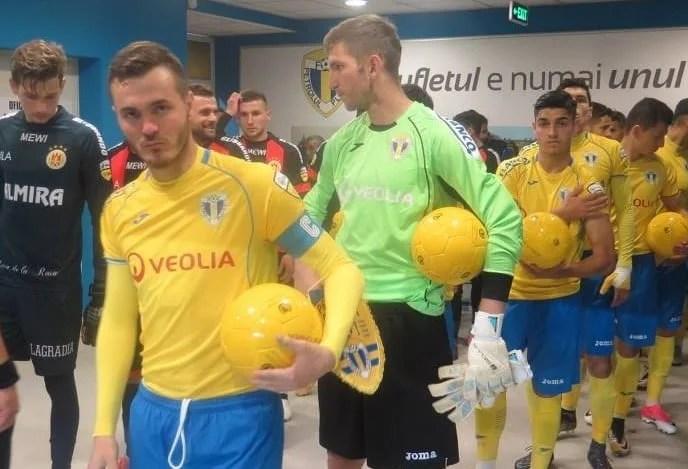 """Patru zile de recuperare pentru utiști după meciul cu Argeșul, pe """"Ilie Oană"""" se joacă joi, în nocturnă!"""