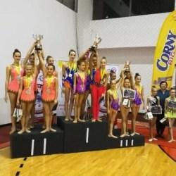 Medalii pentru gimnastele de la ritmică la Cupa României şi Campionatele Naţionale de Ansambluri