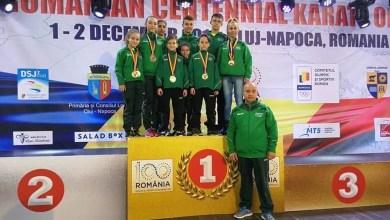 Photo of Medalii prețioase pentru Banzai Karate Club la Openul Centenar de la Cluj, onorat de 846 de sportivi din 18 țări!
