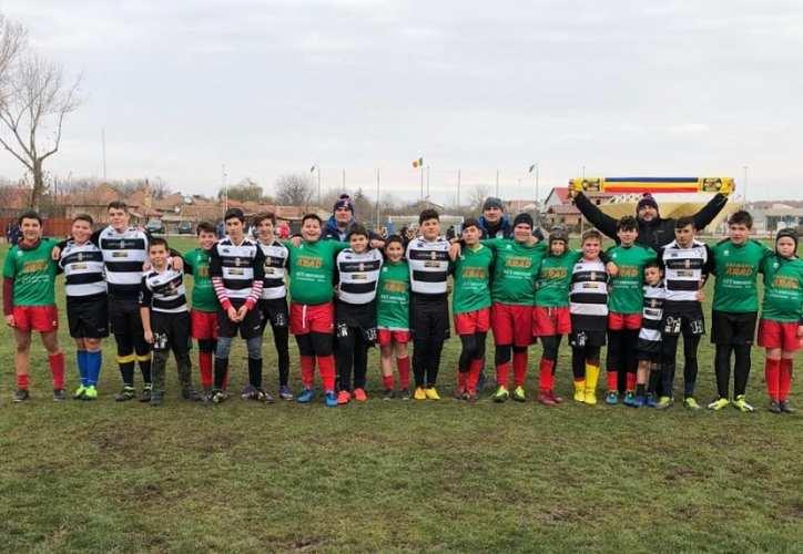 CS Universitatea Arad merge cu ambele echipe de juniori la turneul final al Circuitului de MiniRugby