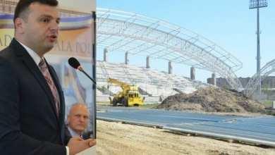 """Photo of Vicele CJA, Sergiu Bîlcea, susține că """"Francisc Neuman"""" va fi finalizat în acest an: """"Cred că UTA va juca pe noul stadion din turul sezonului 2019-2020"""""""
