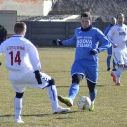 """Poftă de goluri pentru """"alb-albaștri"""" înainte de deplasarea de la Cugir: Victoria Zăbrani - Crișul Chișineu-Criș 1-6"""