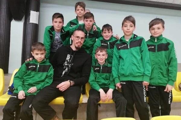Dublă lovitură pentru Academia Brosovszky la Budapesta: Medalie de bronz la Voyage Cup și poză cu Marek Hamsik!
