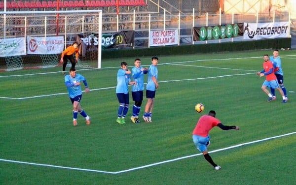 D. Popa și Kanda au decis amicalul UTA-ei cu Zăbraniul, Melinte - menajat în vederea meciului cu fosta echipă