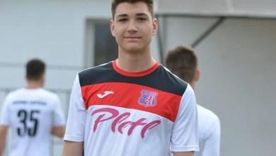 """Photo of Abel Popa, debut în tricoul Lipovei la numai 16 ani: """"Am avut mari emoții, de acum sper să fiu folosit cât mai mult"""""""