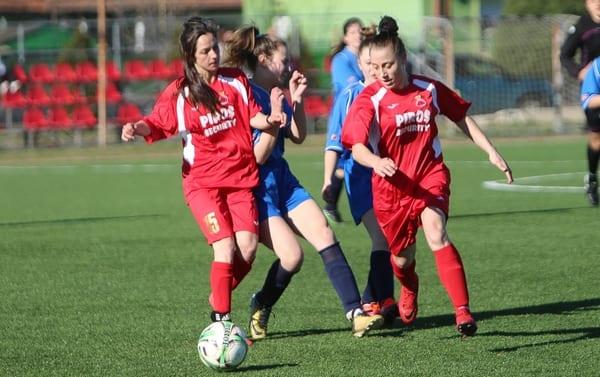 Instrucție în derby-ul județean la fete: AC Piroș Security – CS Ineu 22-0 + FOTO