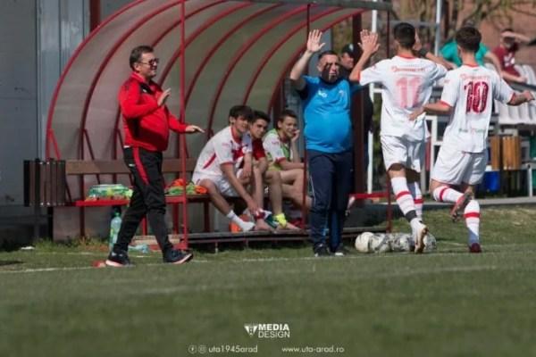 Weekendul perfect al UTA-ei a fost completat de juniorii Under 19 și Under 17: Echipa lui Aslău și Petcuț – la al doilea succes stagional