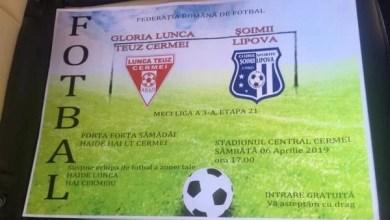 """Photo of Încă o zi până la derby-ul Cermei – Lipova: """"Să simțim aerul locului 1"""" v.s. """"Le doresc să-l simtă cândva!"""""""