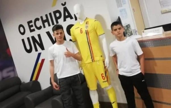 Portarul Coman și mijlocașul Călin reprezintă Aradul la Mogoșoaia, la acțiunea de selecție a juniorilor născuți în 2006