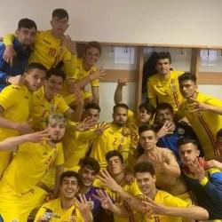 Utistul Miculescu, printre marcatorii României Under 18 în revanșa contra Slovaciei + VIDEO