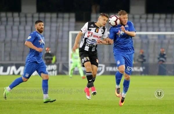 Liga a II-a, etapa a 36-a: U. Cluj, cu mari emoții din nou pe locul 3!