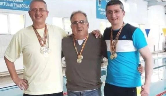 Înotătorii masters ai CSM-ului au făcut valuri la Timişoara