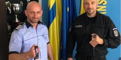 Doi polițiști arădeni – medaliați la jiujitsu brazilian, în Croația