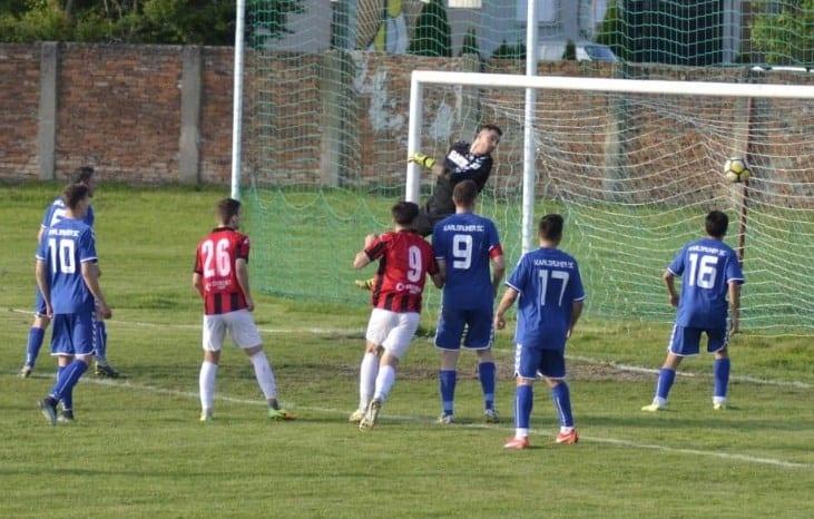Portari inspirați la penalty-uri, oaspeții au găsit resursele revenirii pe tabelă: Unirea Sântana - Victoria Zăbrani  2-2