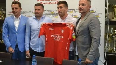 """Photo of UTA a câștigat bătălia cu Poli Iași și FC Botoșani pentru Buhăcianu: """"Am venit să ajut, rămâne de văzut câte goluri voi marca"""""""