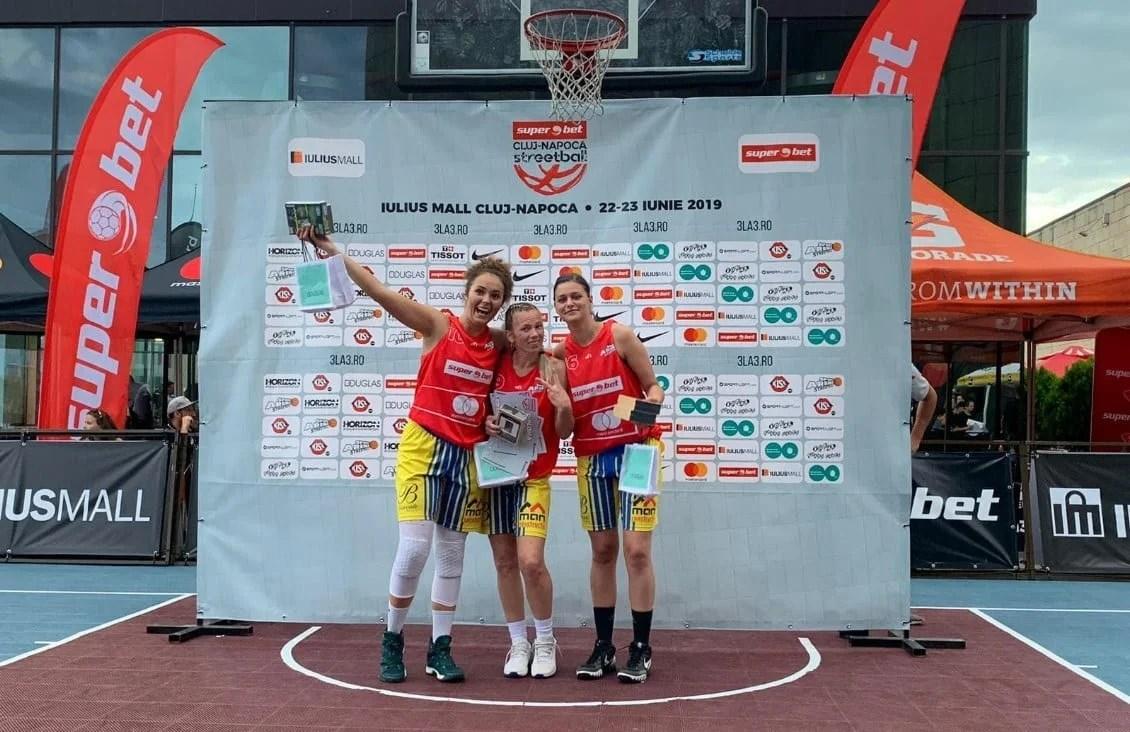 FCC Baschet Arad a câştigat Sport Arena Streetball Cluj și dreptul de a juca finala de la Constanța