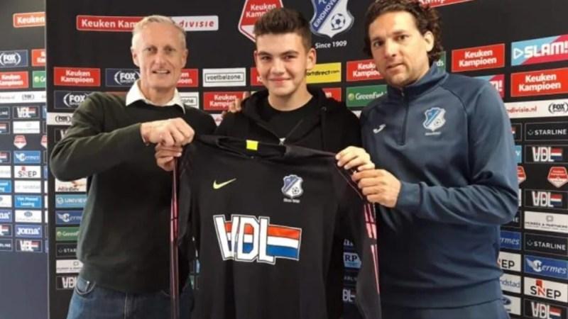 La numai 16 ani, portarul Miclean s-a transferat de la Viitorul Arad la o fostă campioană a Olandei