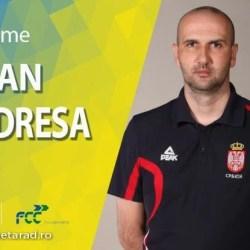 Sârbul Dejan Mudreša e noul antrenor al FCC Baschet Arad, alias ICIM