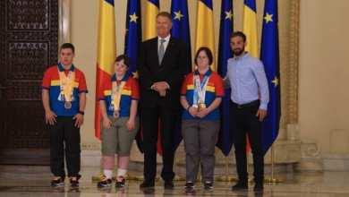 Photo of Medaliată la Special Olympics, arădeanca Mara Oprea a fost felicitată de președintele Iohannis
