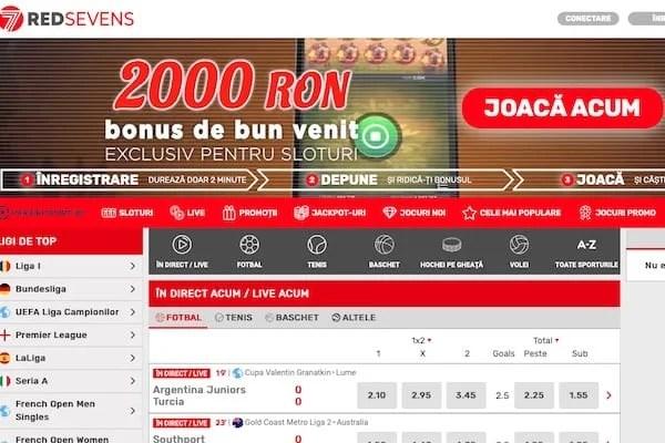 RedSevens - un brand românesc ce vrea să intre în topul platformelor de cazino online
