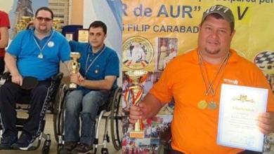 """Photo of """"Temerarii"""" Rădulescu și Banciu, cei mai buni la tenis de masă în Republica Moldova și Bulgaria"""
