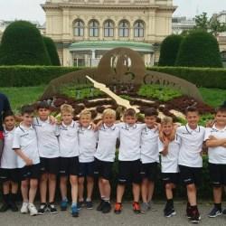Academia Brosovszky a jucat alături de marile cluburi europene la turneele finale de la Viena și Belgrad!