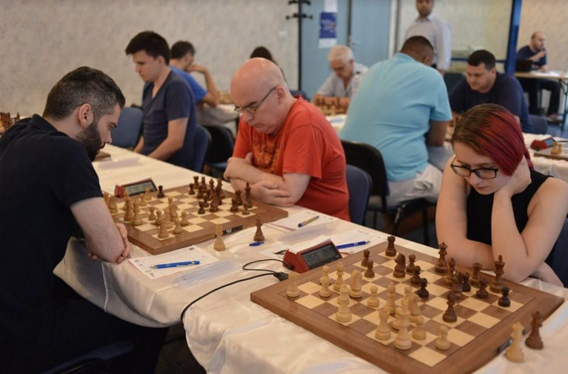 Grecul Mastrovasilis, lider la Arad Open