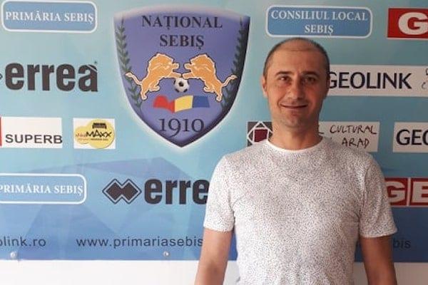 """Șomcherechi, """"uns"""" oficial antrenor la Sebiș! Demetrescu: """"Îl simțim dornic de muncă și afirmare!"""""""