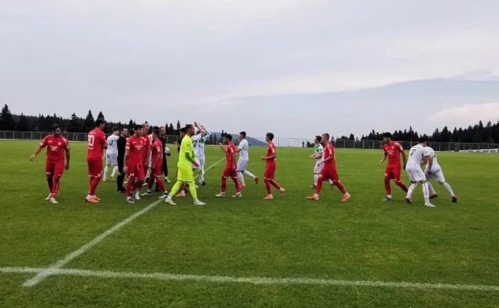 S-a pus doar problema scorului în fața slovenilor de Liga 3-a: UTA – ND Dravinja  7-0