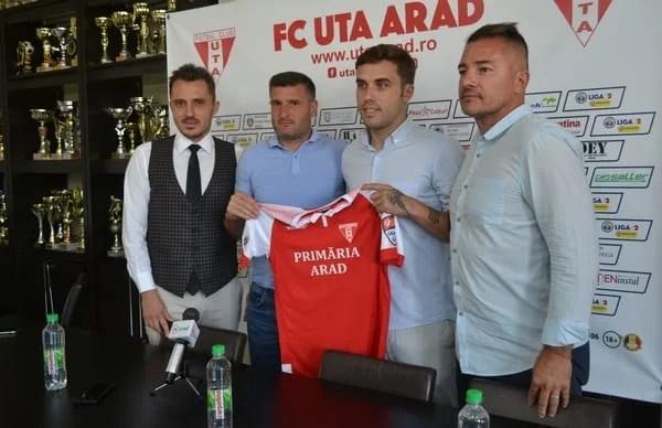 """Alex Ioniță e noul număr 9 al """"Bătrânei Doamne"""": """"Un sezon bun pentru mine ar însemna promovarea, Petrolul și U. Cluj – principalele contracandidate"""""""