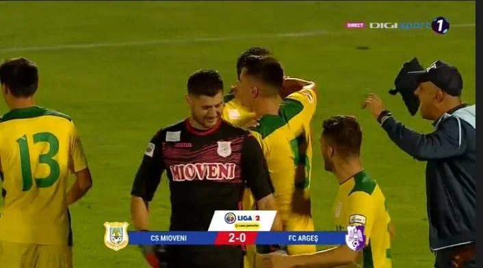 Liga a II-a, etapa a 4-a: Mioveniul o aruncă pe UTA în afara podiumului după succesul din derby-ul județului Argeș