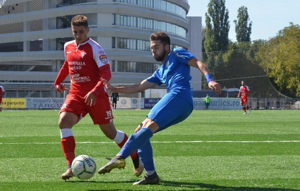 """Cipri Rus a ajuns cota 6 goluri stagionale: """"La Arad toată lumea vorbea despre Dinamo, dar noi nu ne permiteam să plecăm fără toate punctele de la Târgu Jiu"""""""