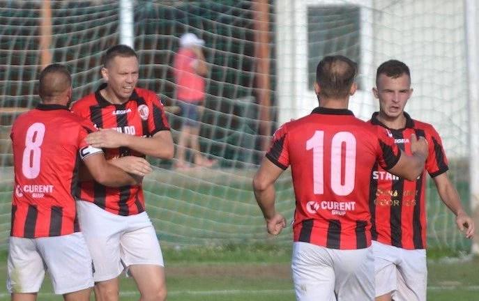 Zeița Fortuna și-a luat liber la debutul lui Irimia, Stanciu a ajuns din nou la spital: CS Glogovăț - Unirea Sântana 1-1